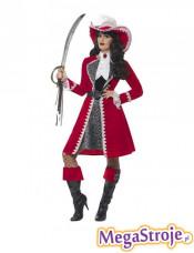 Kostium Pani Kapitan piratów