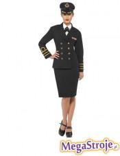 Kostium Pani Oficer marynarki czarny