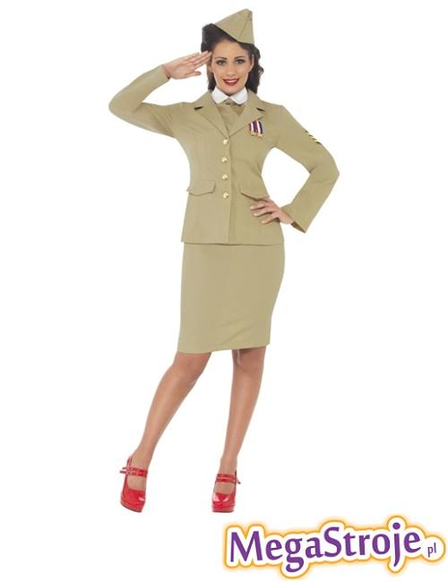 Kostium Pani Oficer z II wojny światowej