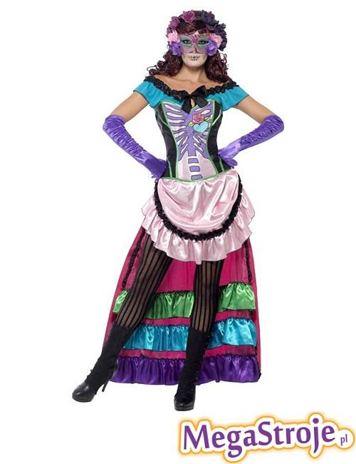 Kostium Pani Śmierć z Meksyku