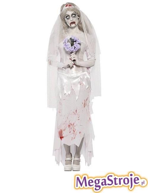 Kostium Panna Młoda zombie