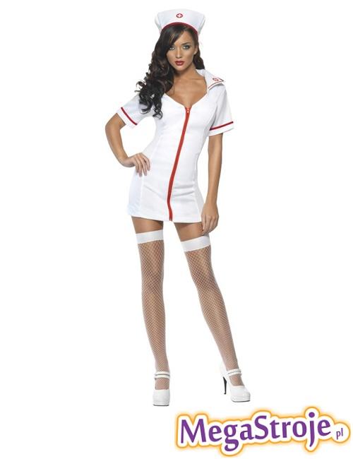 Kostium Pielęgniarka biała 3