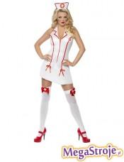 Kostium Pielęgniarka biała 4