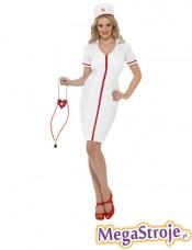 Kostium Pielęgniarka biała 5
