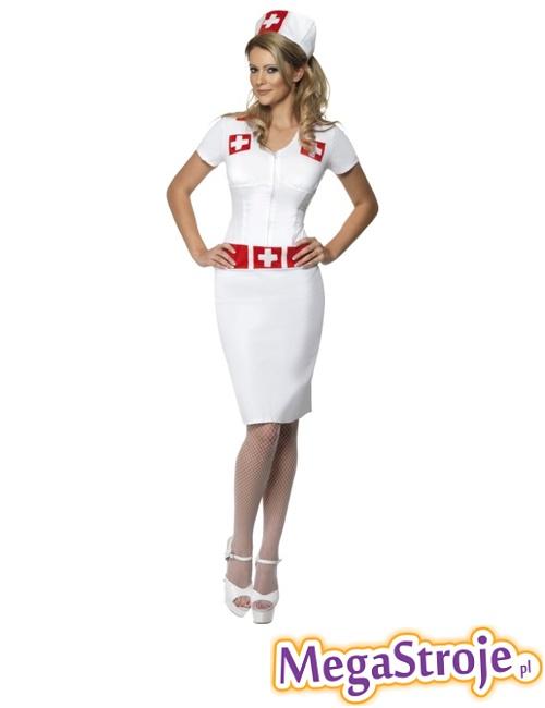 Kostium Pielęgniarka biała