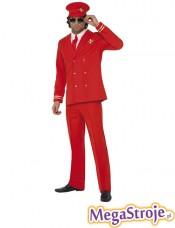 Kostium Pilot czerwony