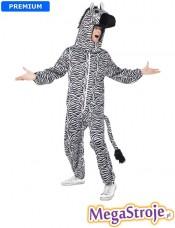 Kostium pluszowy Zebra