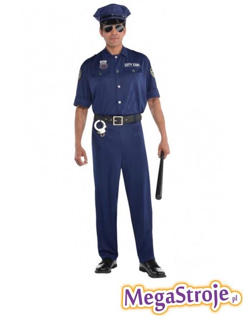 Kostium Policjant granatowy