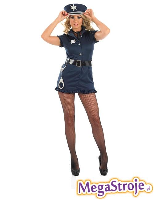 Kostium Policjantka niebieska