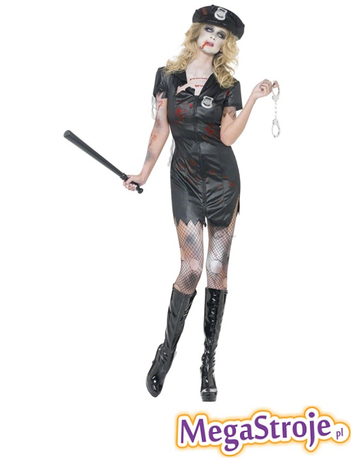 Kostium Policjantka Zombie