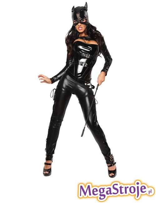 Как сшить костюм женщины кошки для куклы 29