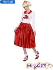 Kostium Sandy czerwony - Grease
