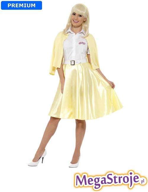 Kostium Sandy złoty - Grease