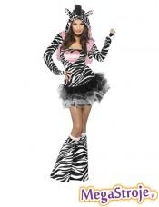 Kostium Seksowna Zebra