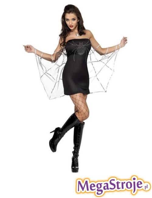 Kostium Sexy Czarna Wdowa