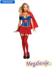 Kostium Sexy Dziewczyna Supermana