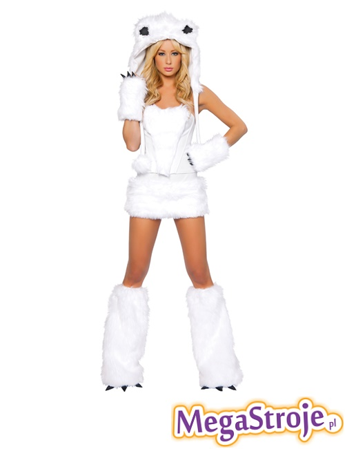 Kostium Sexy Miś polarny