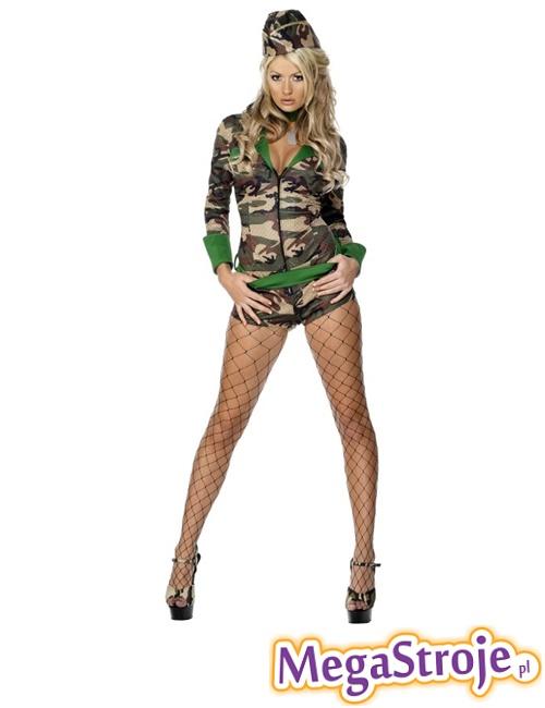 Kostium Sexy Pani Żołnierz