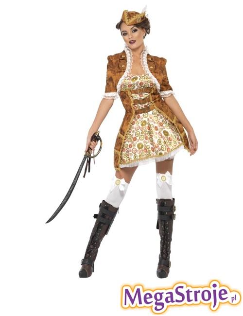 Kostium Sexy Piratka przyszłości