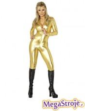 Kostium Sexy Treserka złota