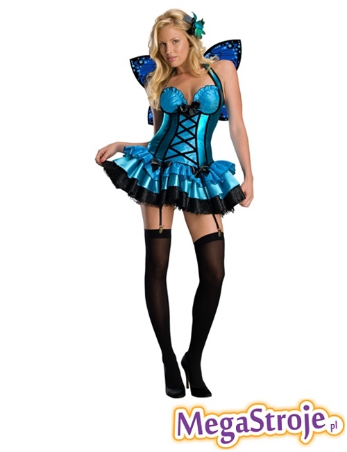 Kostium Sexy Wróżka niebieska