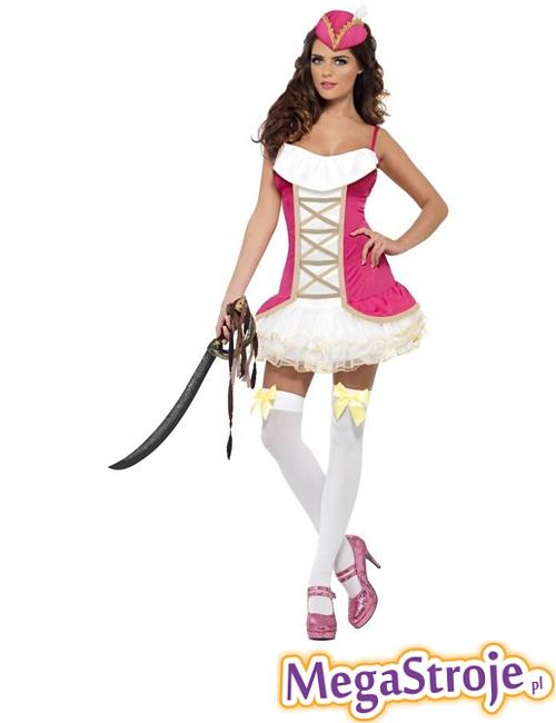 Kostium Słodka Piratka różowa