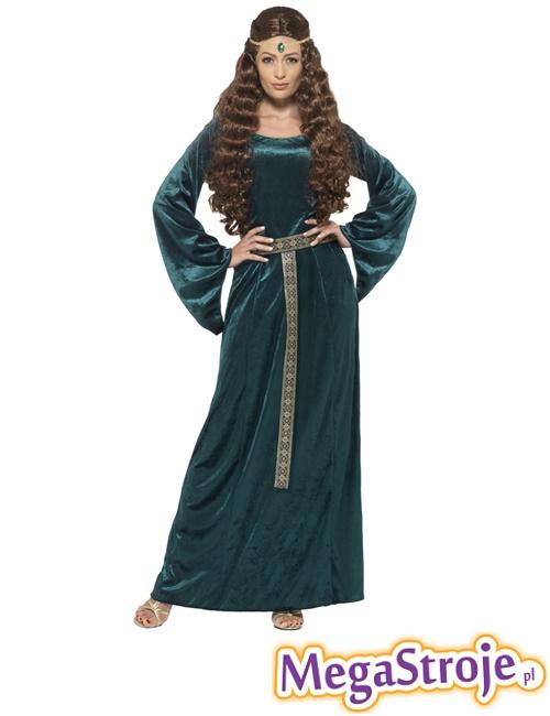 Kostium Średniowieczna Dama