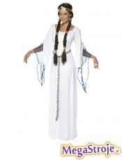 Kostium Średniowieczna Dziewica