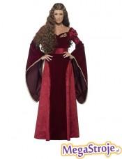 Kostium Średniowieczna Królowa deluxe