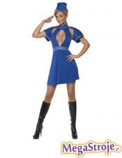 Kostium Stewardessa niebieska 2