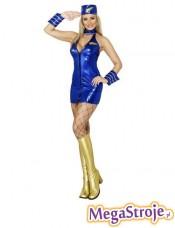Kostium Stewardessa niebieska