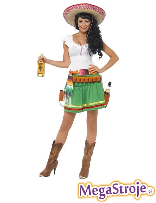 Kostium Strzelająca Meksykanka