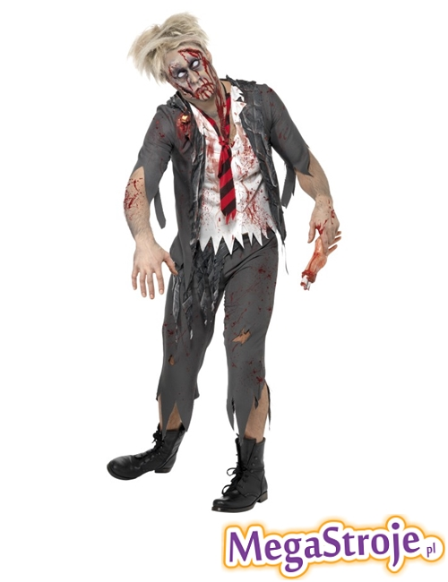 Kostium Student zombie