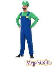 Kostium Super Luigi Mario Bros