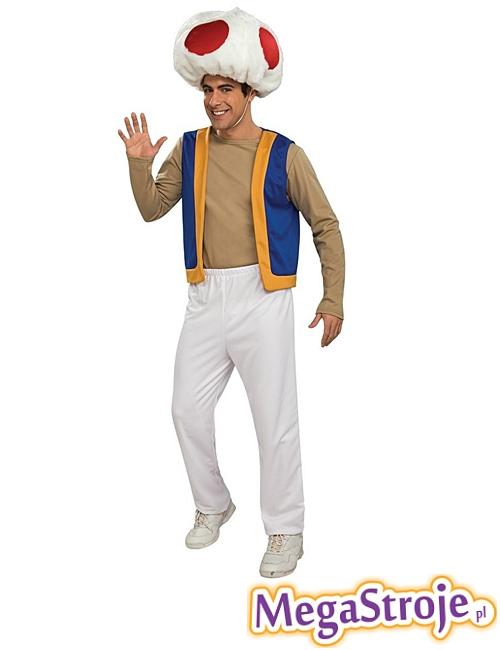 Kostium Super Mario Grzyb