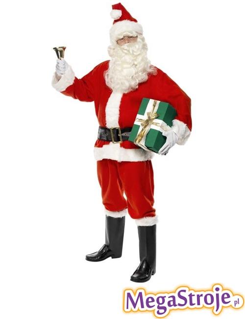 Kostium Święty Mikołaj deluxe
