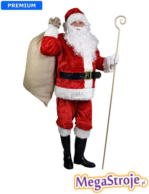 Kostium Święty Mikołaj mega deluxe