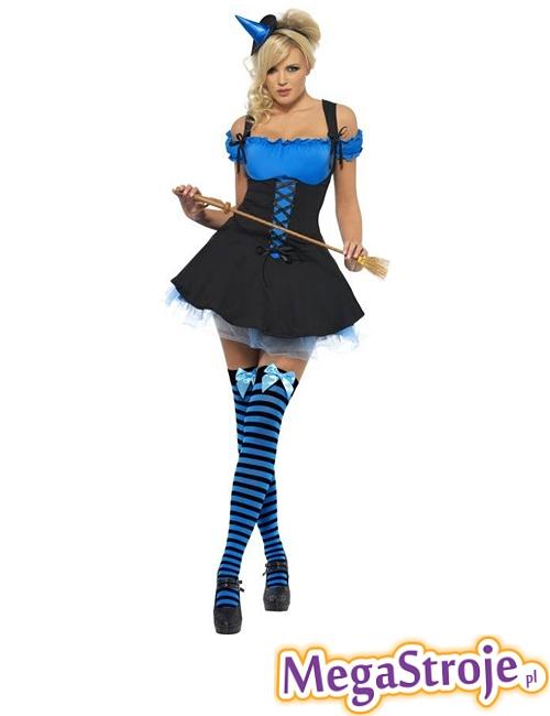 Kostium Szalona Wiedźma niebieska