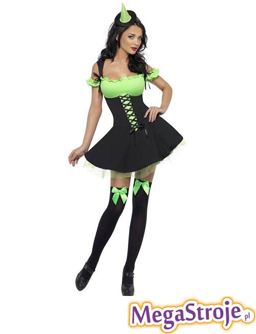 Kostium Szalona Wiedźma zielona