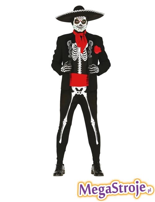 Kostium Szkielet Dia de los Muertos