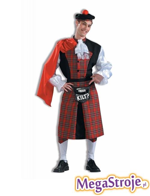 Kostium Szkot co kryje kilt