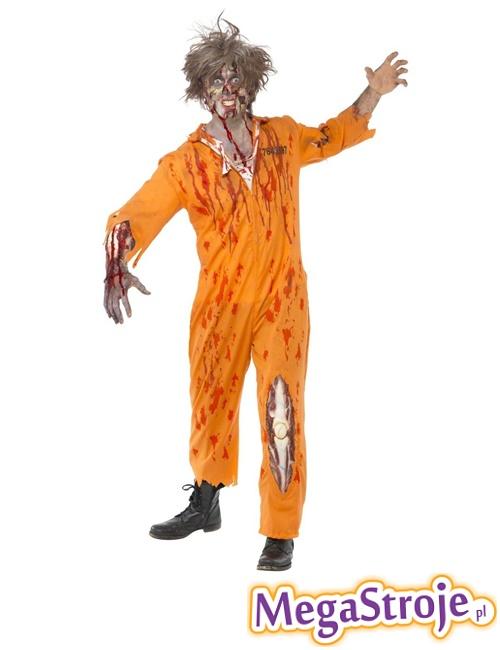 Kostium Więzień zombie