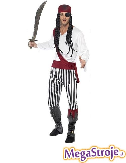 Kostium Zadziornego Pirata