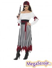 Kostium Zadziornej Piratki